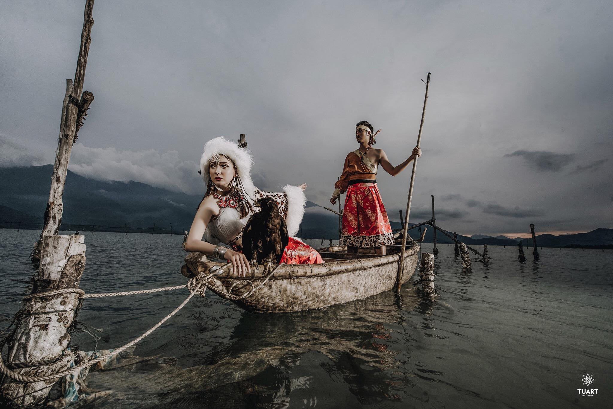 Album tại Đà Nẵng – Album chụp hình cưới concept Mông Cổ