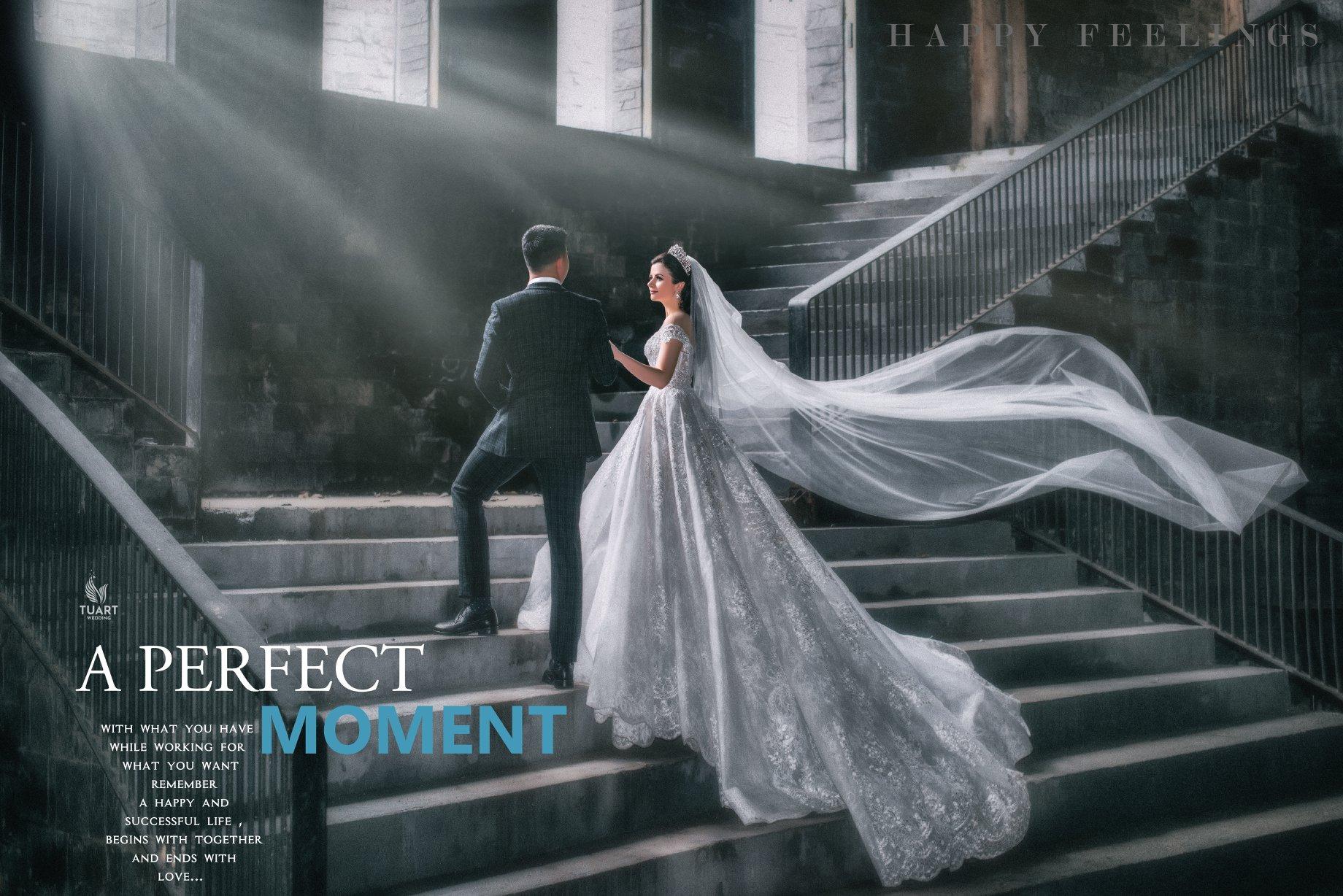 10 Tư thế tạo dáng chụp ảnh cưới hot nhất 2019
