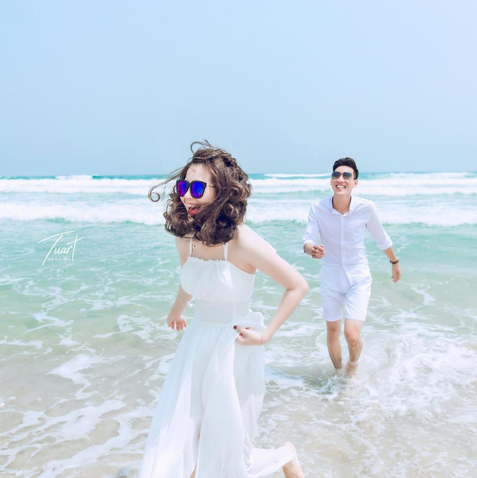 Album chụp ảnh cưới đẹp biển Mỹ Khê: Trang-Khôi 6