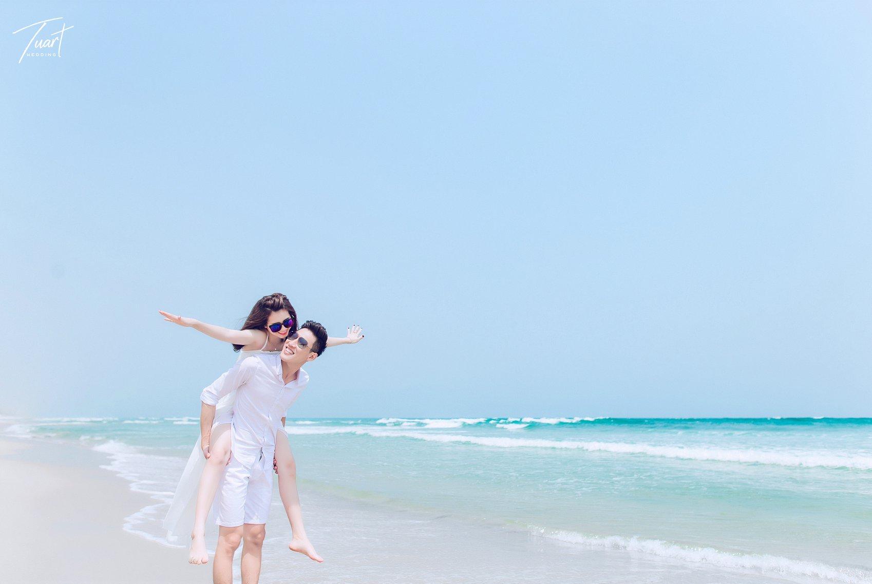 Album chụp ảnh cưới đẹp biển Mỹ Khê: Trang-Khôi 7