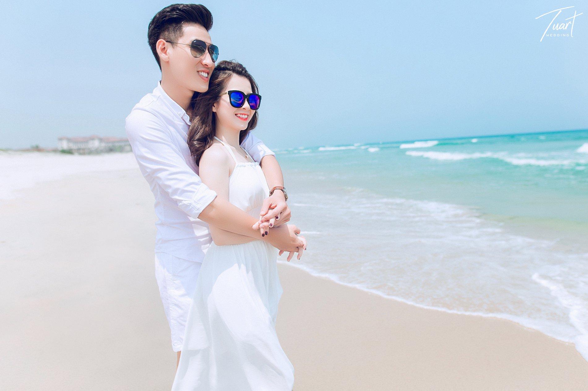 Album chụp ảnh cưới đẹp biển Mỹ Khê: Trang-Khôi 9