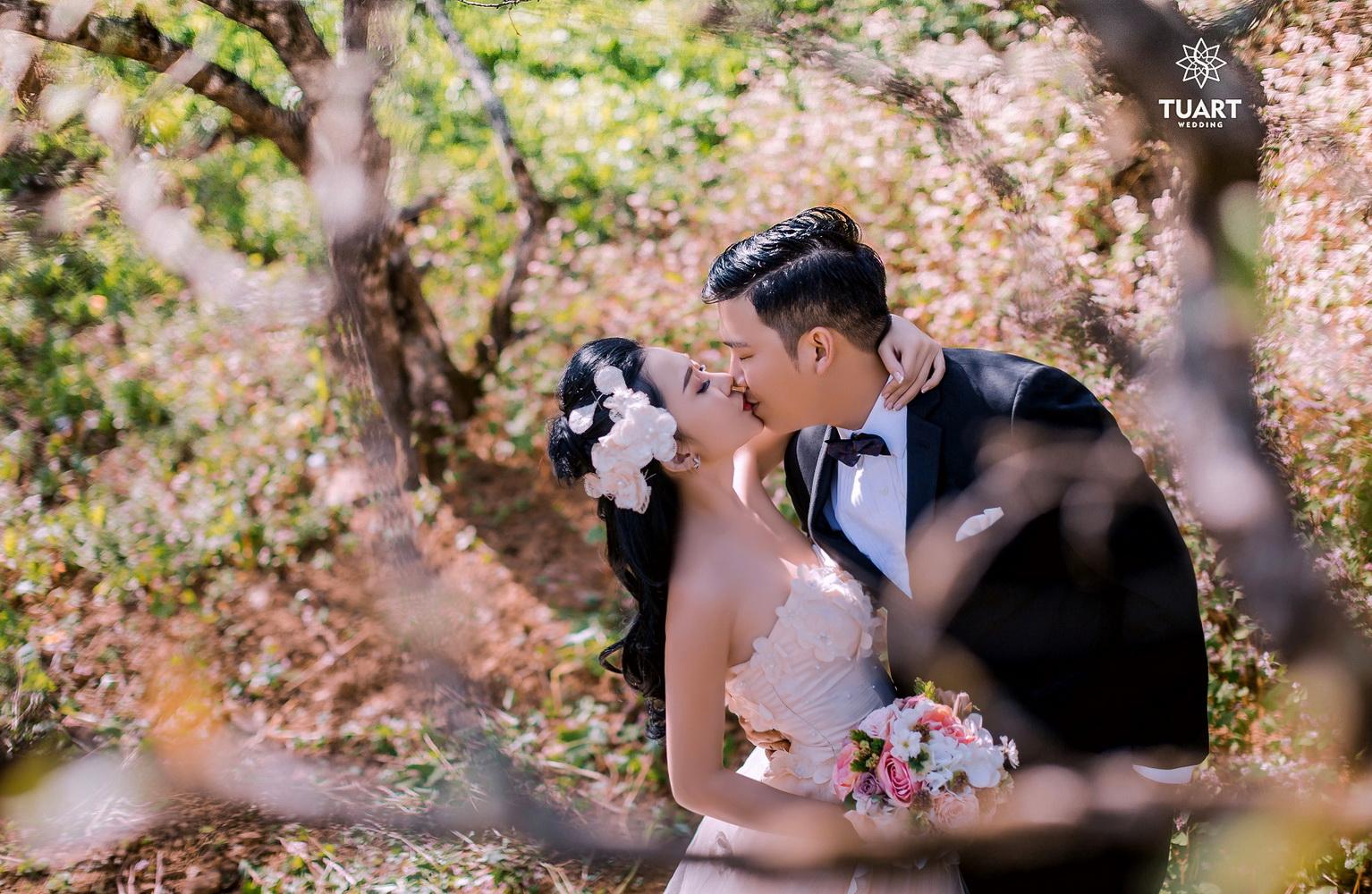 Album chụp ảnh cưới đẹp tại Mộc Châu: Đức-Lan 12