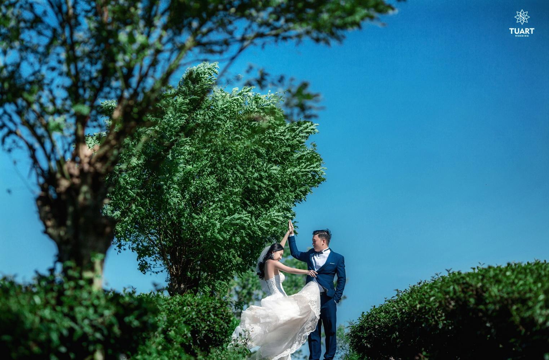 Album chụp ảnh cưới đẹp tại Mộc Châu: Đức-Lan 13