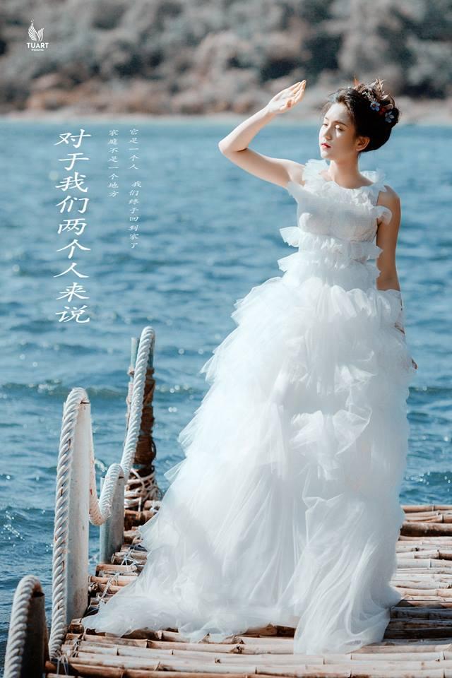 Album chụp ảnh cưới đẹp Hồ Xanh-Nắng đầu mùa 2
