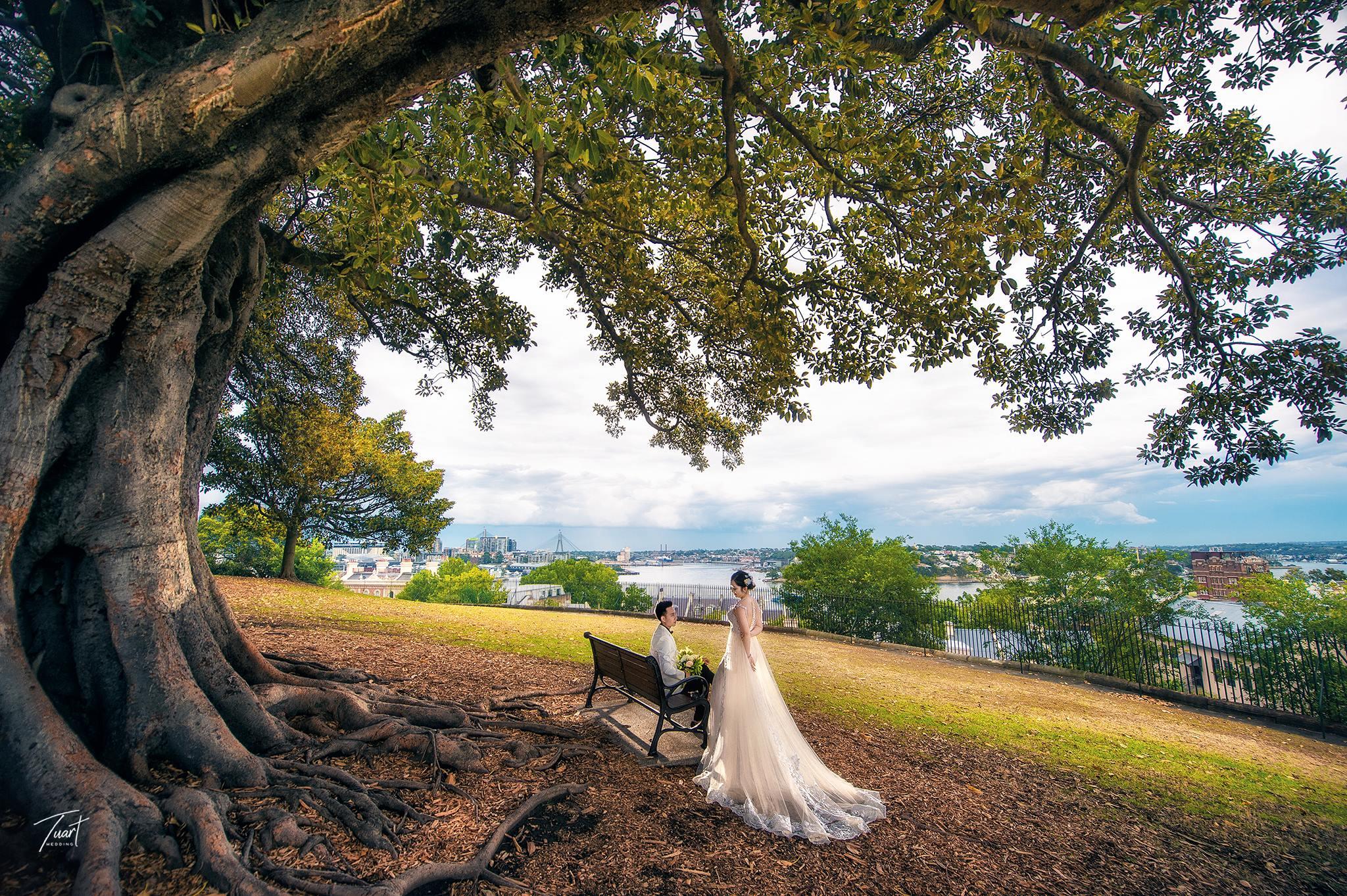Album tại Australia : Jack & Rose – Album chụp ảnh cưới đẹp