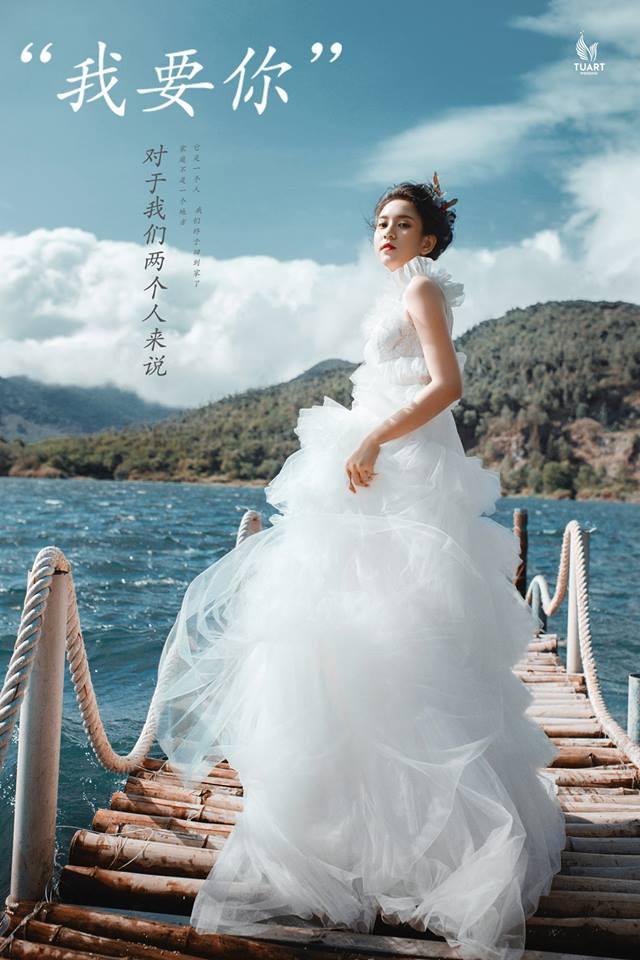 Album chụp ảnh cưới đẹp Hồ Xanh-Nắng đầu mùa 4
