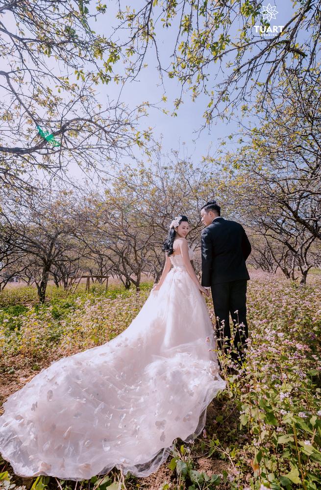 Album chụp ảnh cưới đẹp tại Mộc Châu: Đức-Lan 4