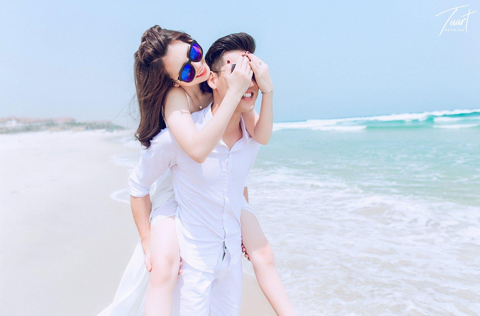 Album chụp ảnh cưới đẹp biển Mỹ Khê: Trang-Khôi 3
