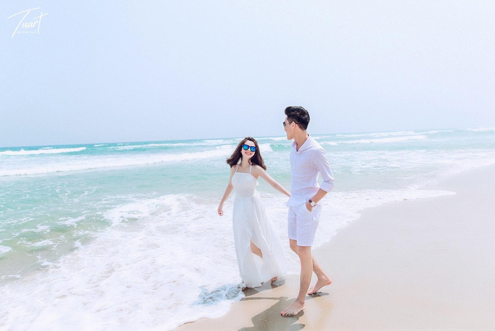 Album chụp ảnh cưới đẹp biển Mỹ Khê: Trang-Khôi 4