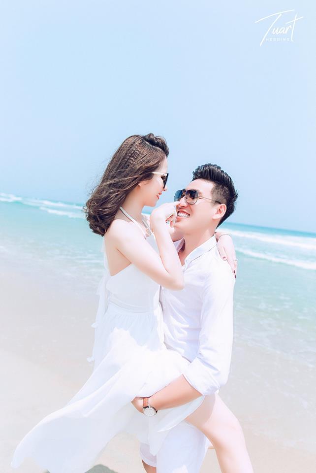 Album chụp ảnh cưới đẹp biển Mỹ Khê: Trang-Khôi 5