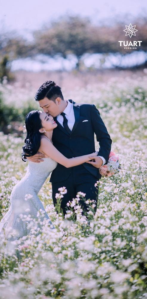 Album chụp ảnh cưới đẹp tại Mộc Châu: Đức-Lan 6