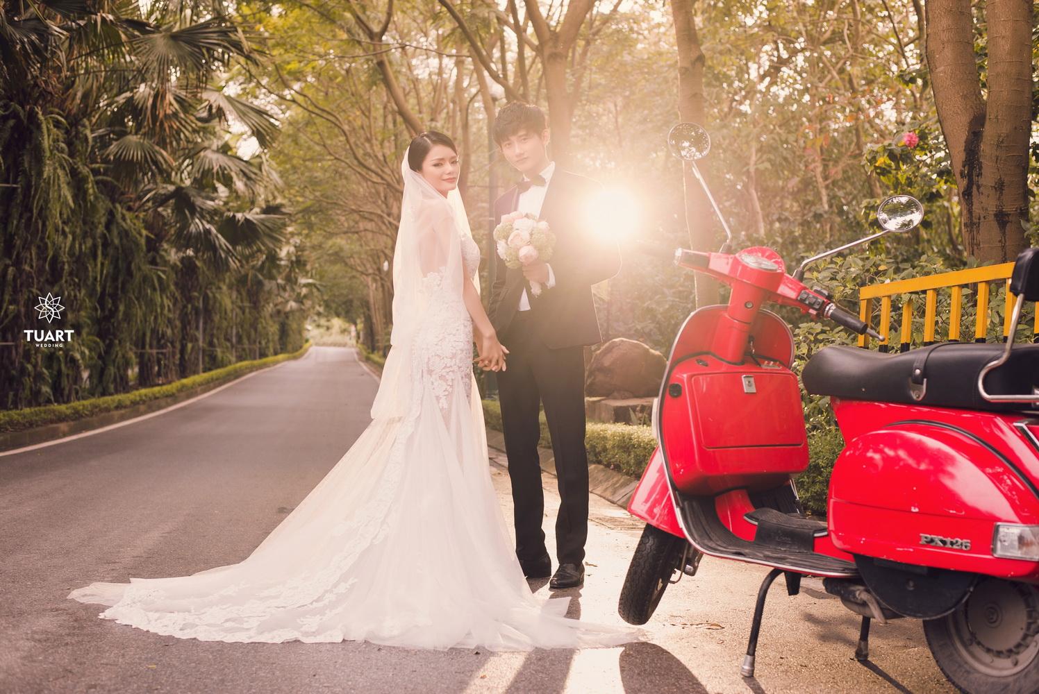Album chụp ảnh cưới đẹp thành phố xanh Ecopark 1