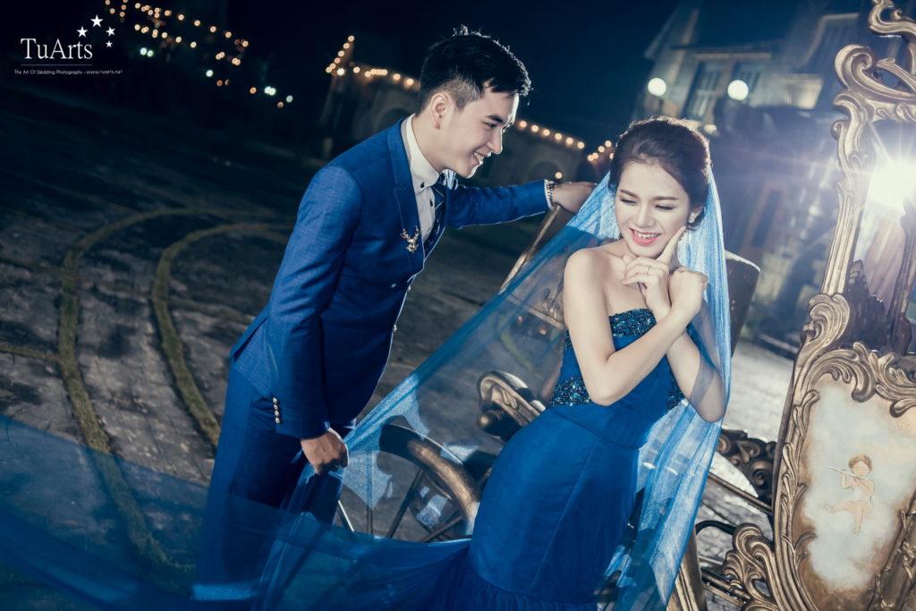 Album tại Smiley : Hiếu & Vân Anh - Album chụp ảnh cưới đẹp 1
