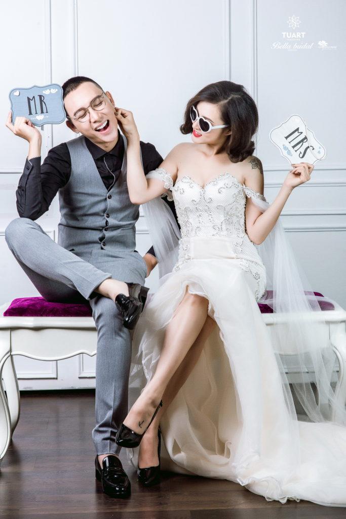 Album chụp ảnh cưới đẹp theo phong cách Hàn Quốc 1