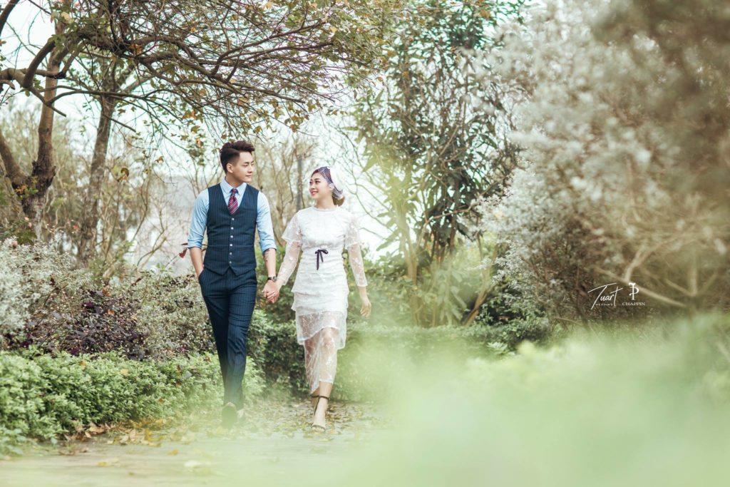 Album chụp ảnh cưới đẹp tại Biệt Thự Hoa Hồng 10