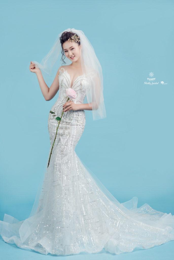 Album chụp ảnh cưới đẹp theo phong cách Hàn Quốc 9