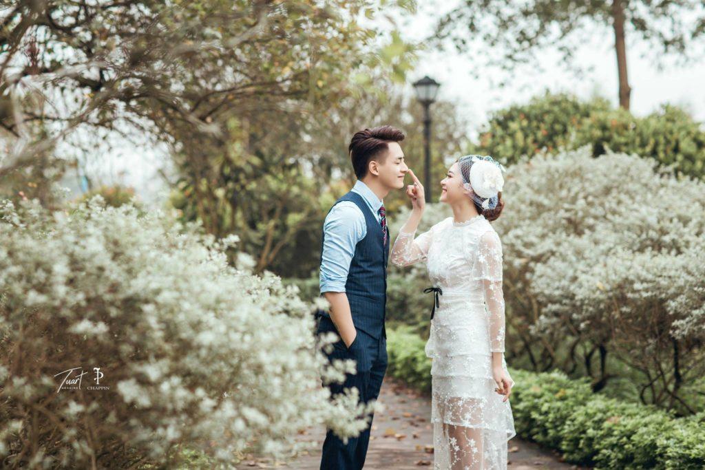 Album chụp ảnh cưới đẹp tại Biệt Thự Hoa Hồng 11