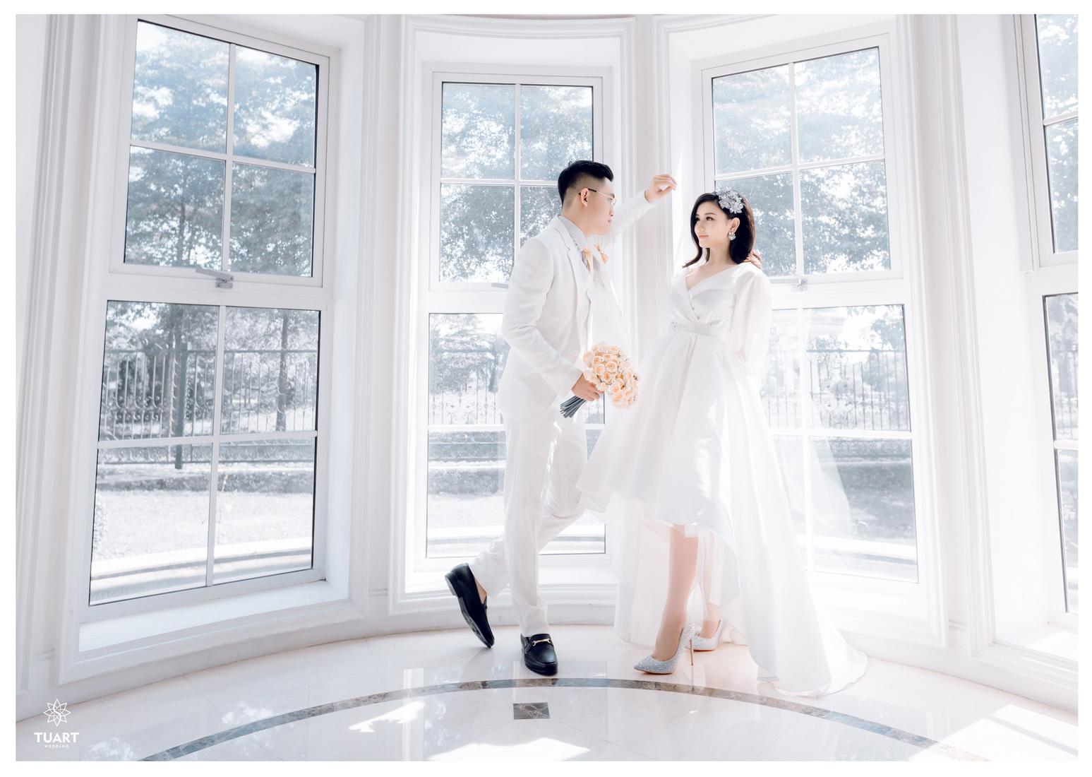 Album chụp ảnh cưới tại Biệt Thự Hoa Hồng : Tùng-Hường 13