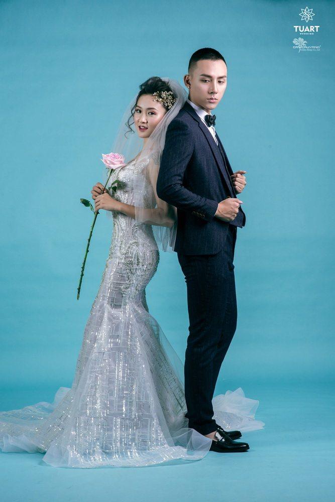 Album chụp ảnh cưới đẹp theo phong cách Hàn Quốc 15