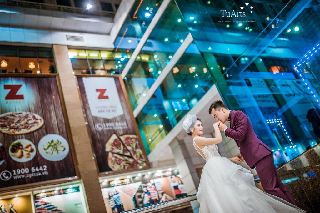 Album tại Smiley : Hiếu & Vân Anh - Album chụp ảnh cưới đẹp 16