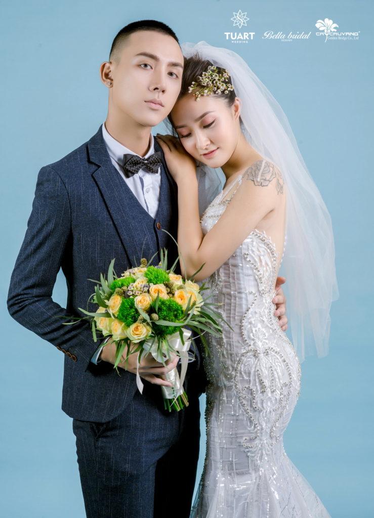 Album chụp ảnh cưới đẹp theo phong cách Hàn Quốc 16