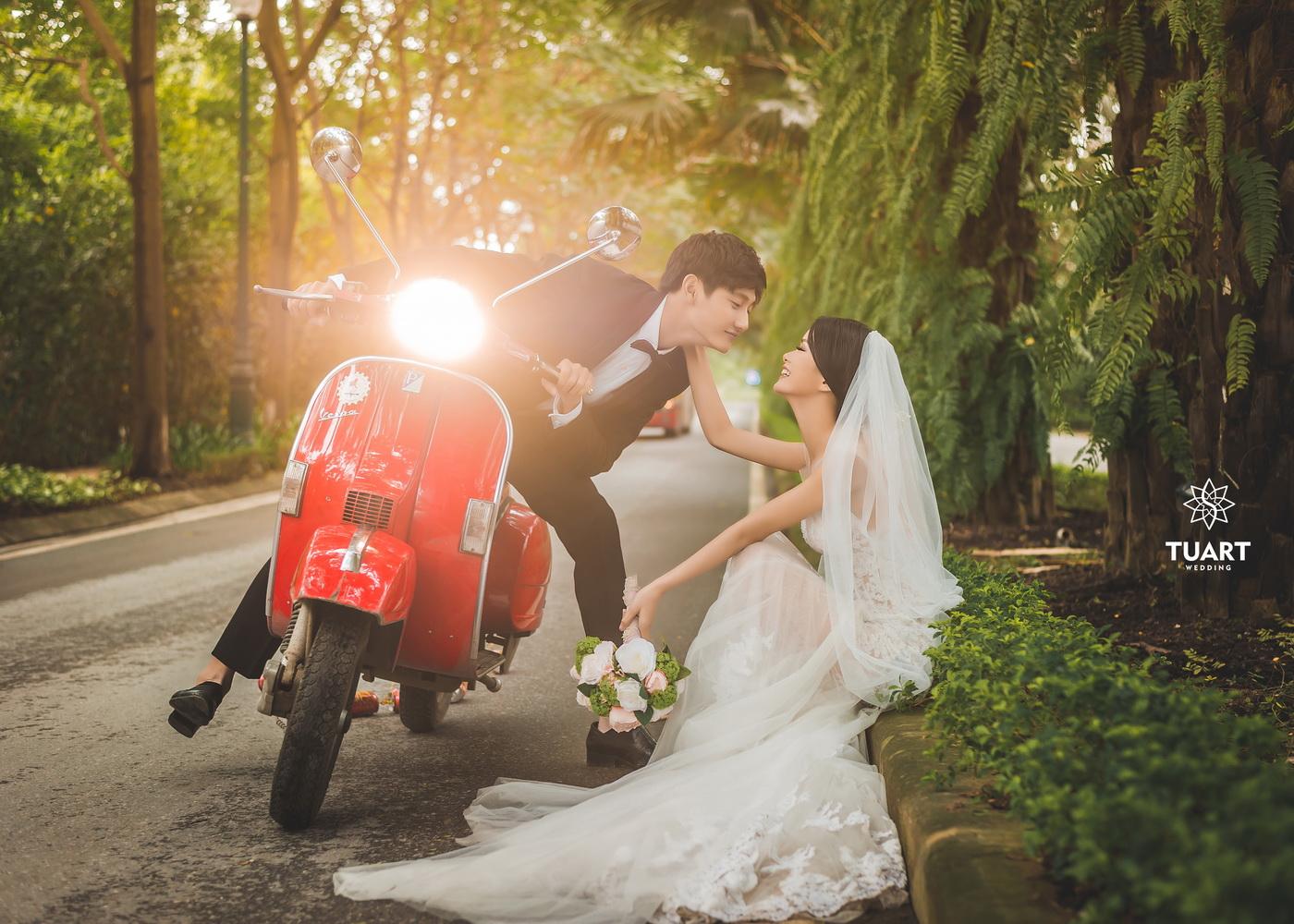 Album chụp ảnh cưới đẹp thành phố xanh Ecopark 17