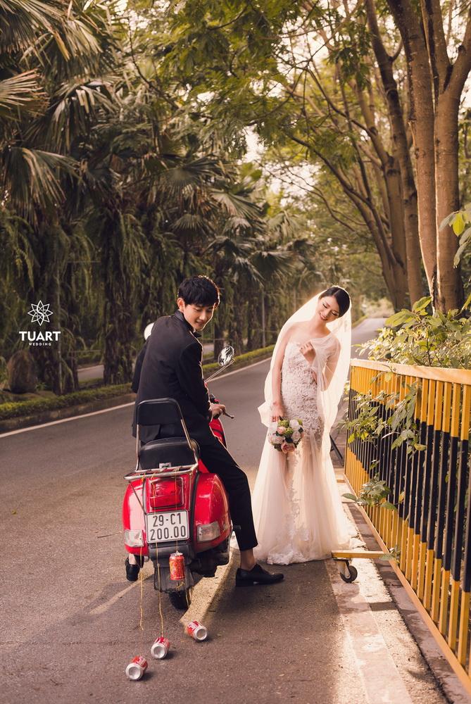 Album chụp ảnh cưới đẹp thành phố xanh Ecopark 2