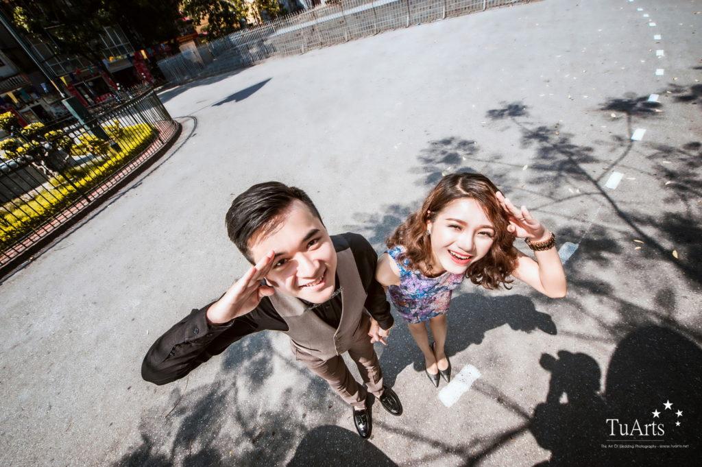 Album tại Smiley : Hiếu & Vân Anh - Album chụp ảnh cưới đẹp 23