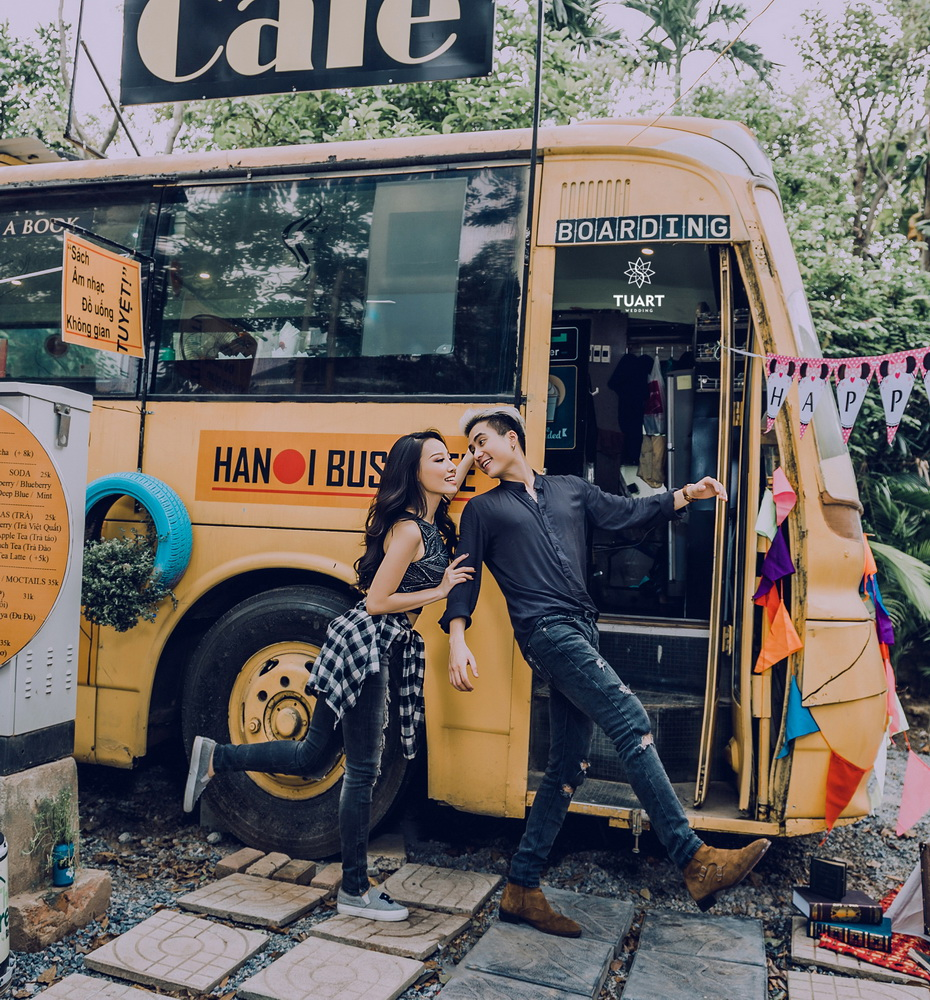 Album chụp ảnh cưới đẹp thành phố xanh Ecopark 27