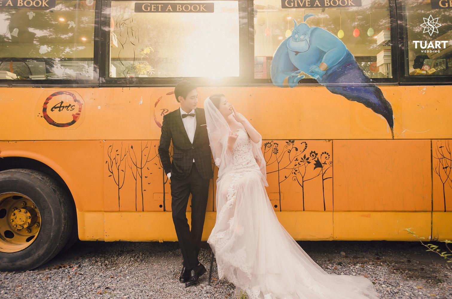 Album chụp ảnh cưới đẹp thành phố xanh Ecopark 28