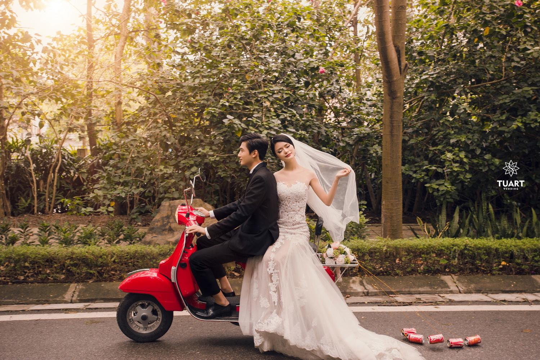 Album chụp ảnh cưới đẹp thành phố xanh Ecopark 3
