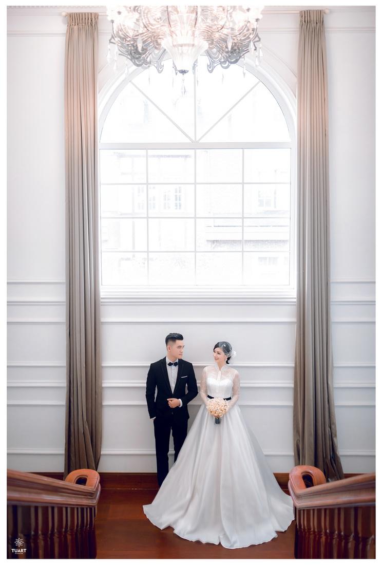 Album chụp ảnh cưới tại Biệt Thự Hoa Hồng : Tùng-Hường 3
