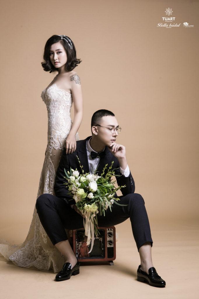 Album chụp ảnh cưới đẹp theo phong cách Hàn Quốc 3