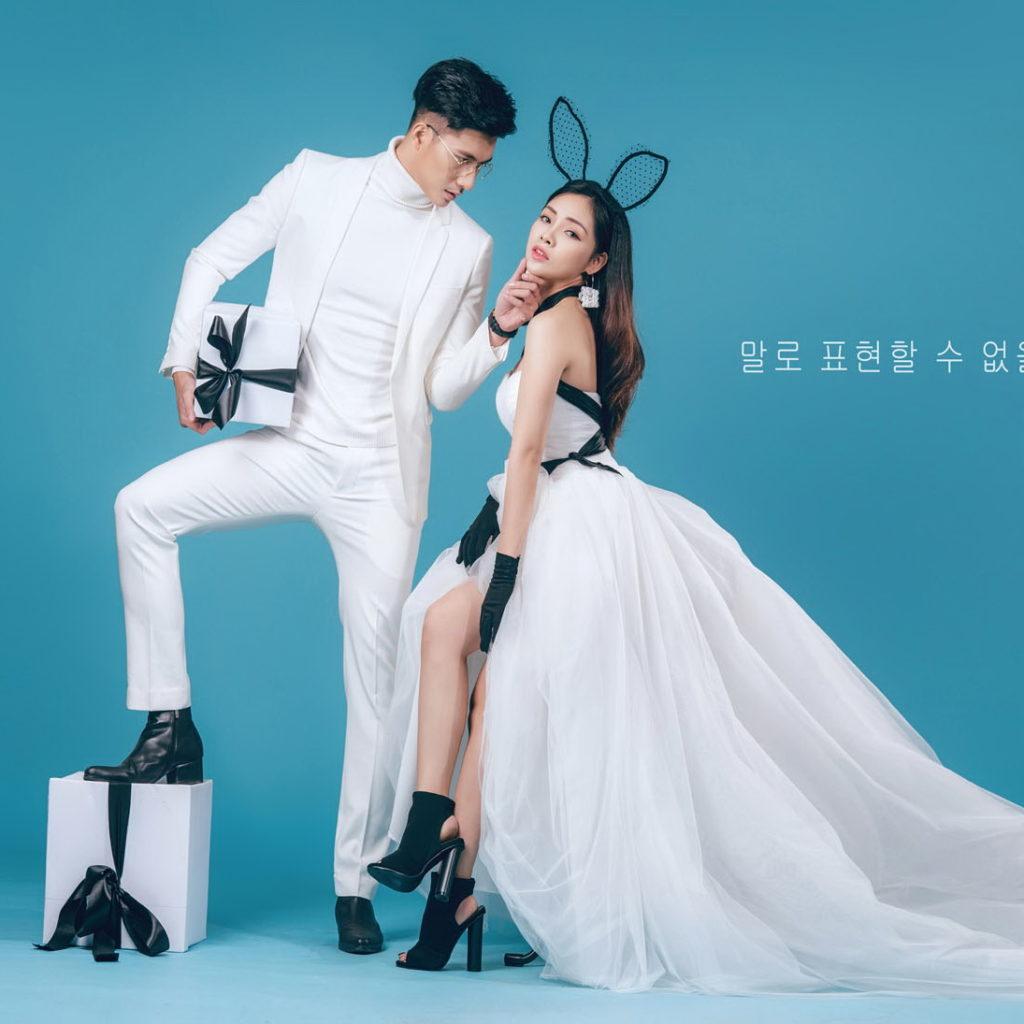 chụp ảnh cưới đẹp theo phong cách Hàn Quốc