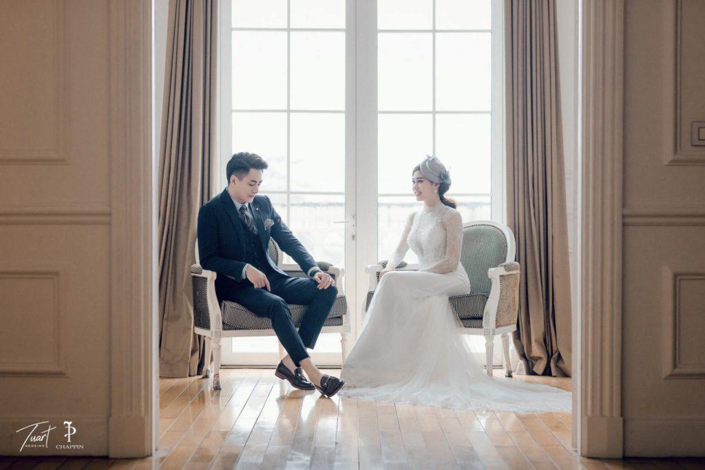 Album chụp ảnh cưới đẹp tại Biệt Thự Hoa Hồng 4