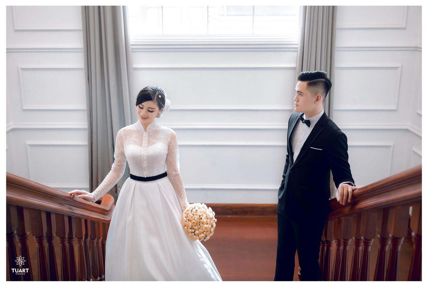 Album chụp ảnh cưới tại Biệt Thự Hoa Hồng : Tùng-Hường 4