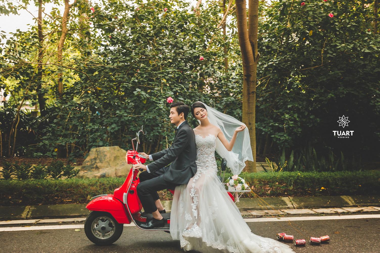 Album chụp ảnh cưới đẹp thành phố xanh Ecopark 5