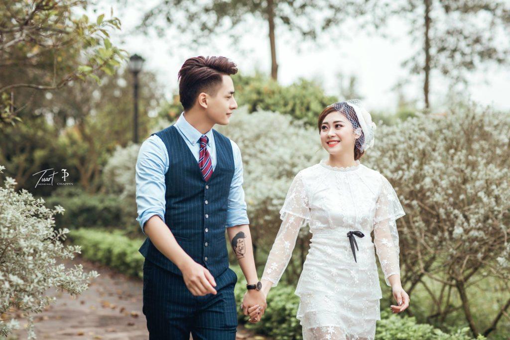 Album chụp ảnh cưới đẹp tại Biệt Thự Hoa Hồng 5