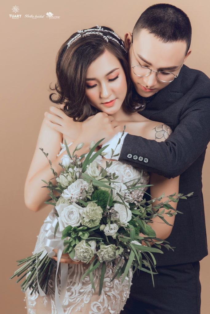 Album chụp ảnh cưới đẹp theo phong cách Hàn Quốc 4