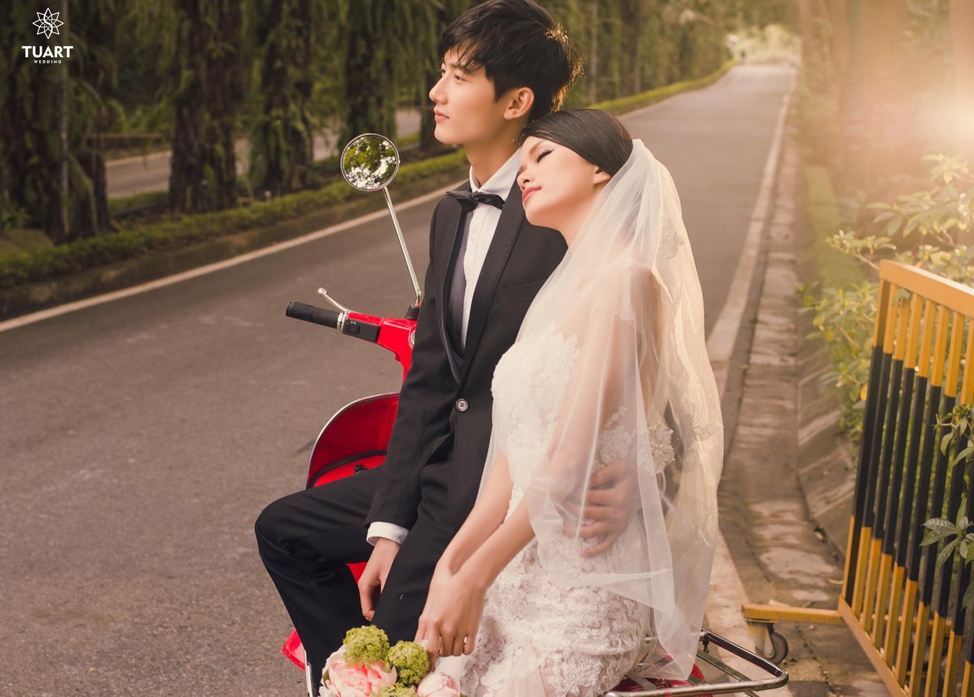 Album chụp ảnh cưới đẹp thành phố xanh Ecopark 6