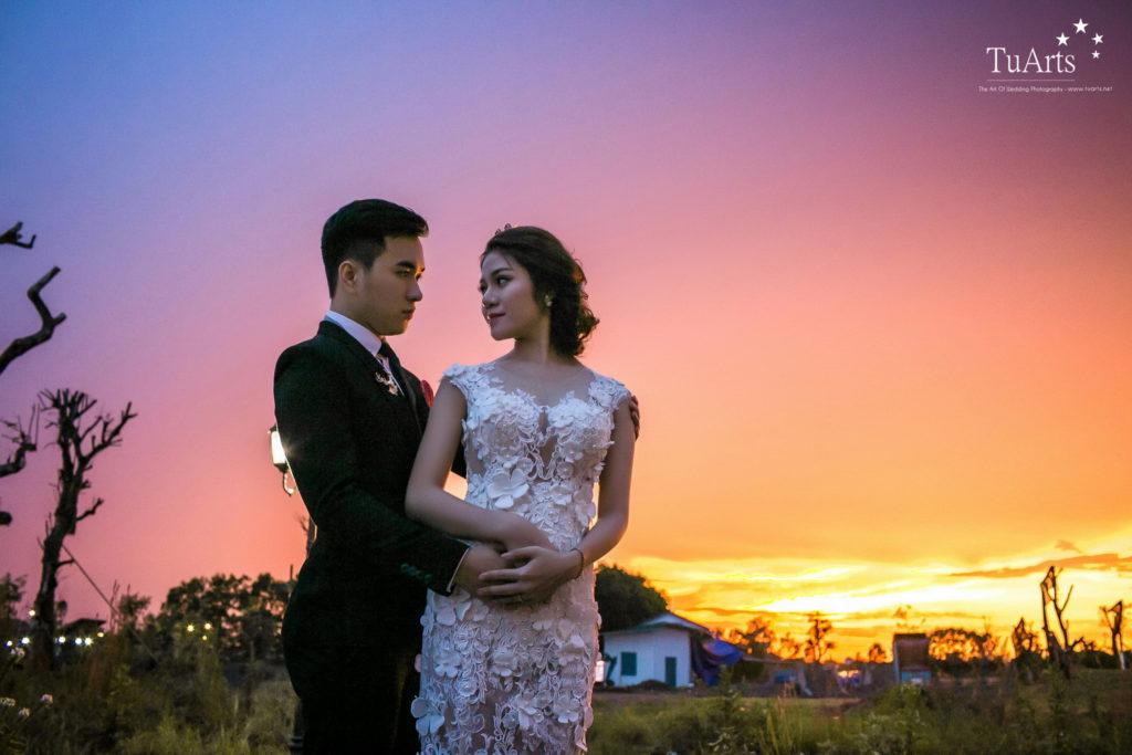 Album tại Smiley : Hiếu & Vân Anh - Album chụp ảnh cưới đẹp 8