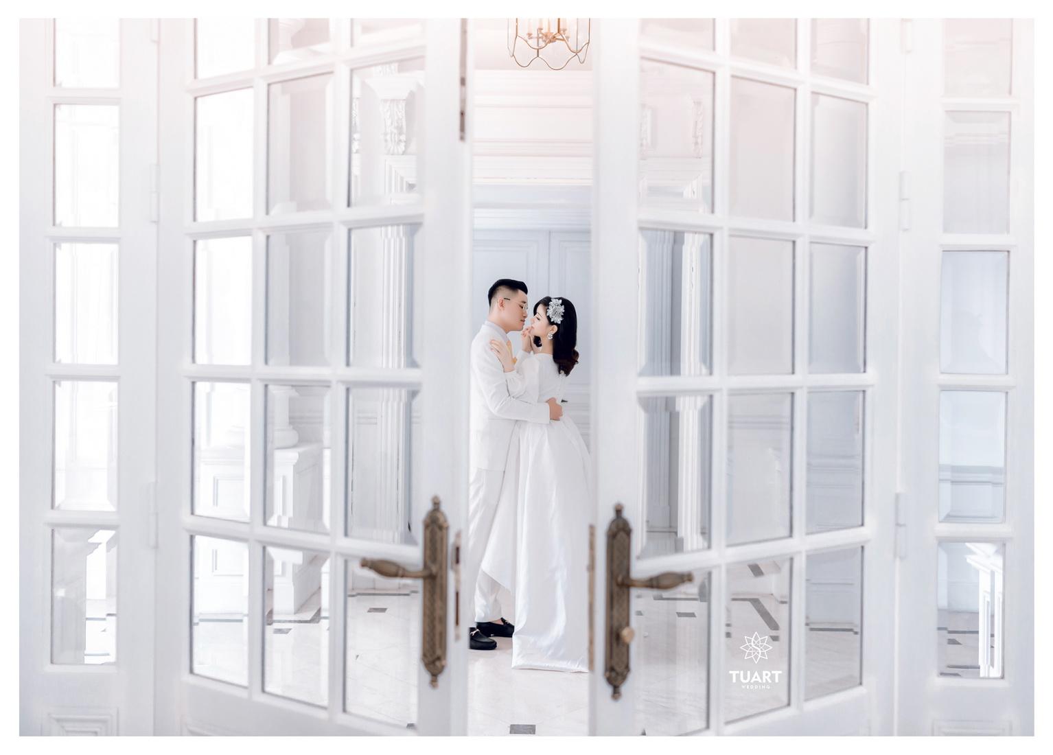 Album chụp ảnh cưới tại Biệt Thự Hoa Hồng : Tùng-Hường 9
