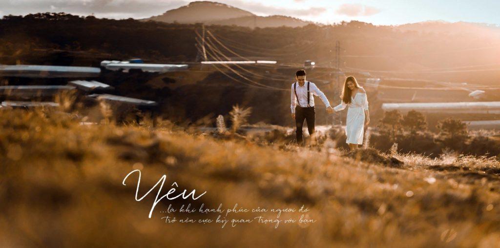 Album chụp hình cưới đẹp Đà Lạt