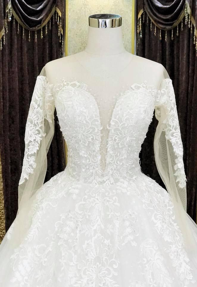 Album váy cưới bồng xòe 124