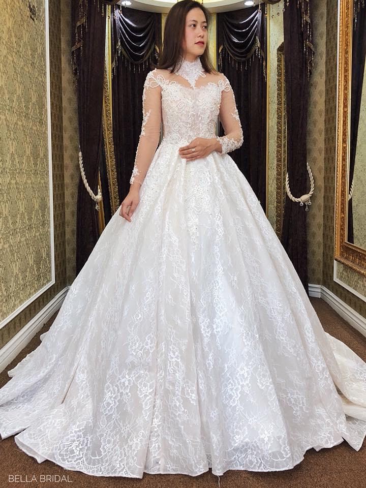Album váy cưới bồng xòe 133