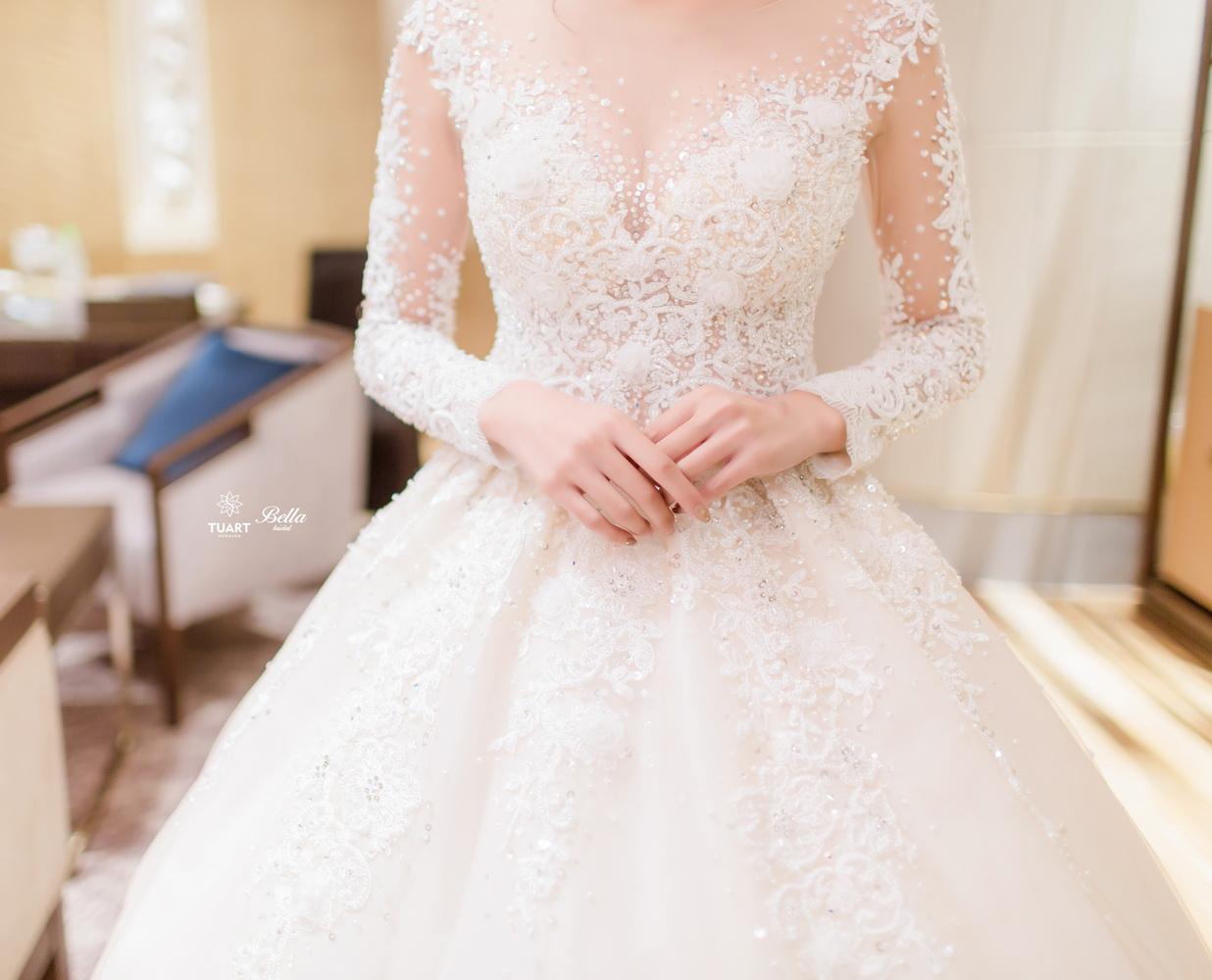 Album váy cưới bồng xòe 6