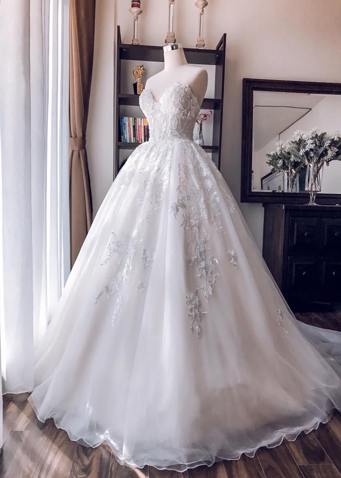 Album váy cưới bồng xòe 90