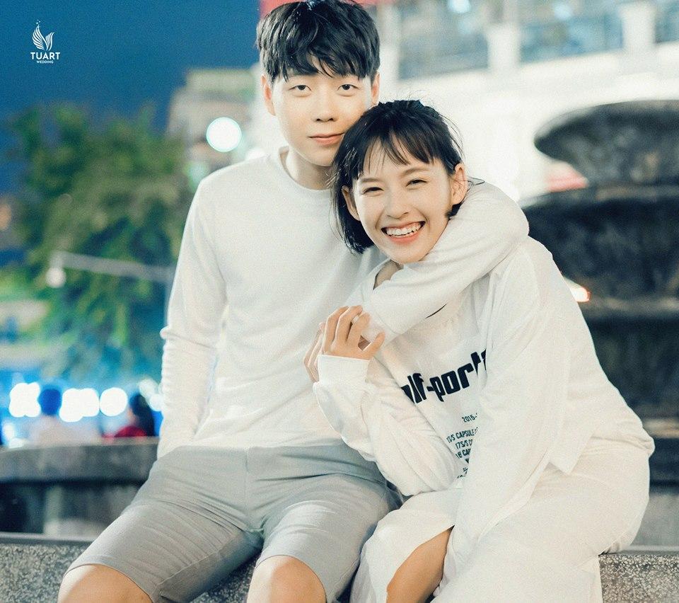 ảnh cưới đẹp Style Hàn Quốc