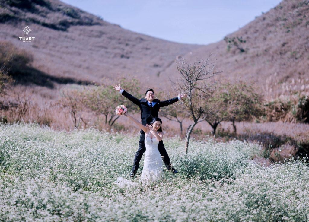 Xu hướng cực hot hiện nay chụp ảnh cưới kết hợp trăng mật
