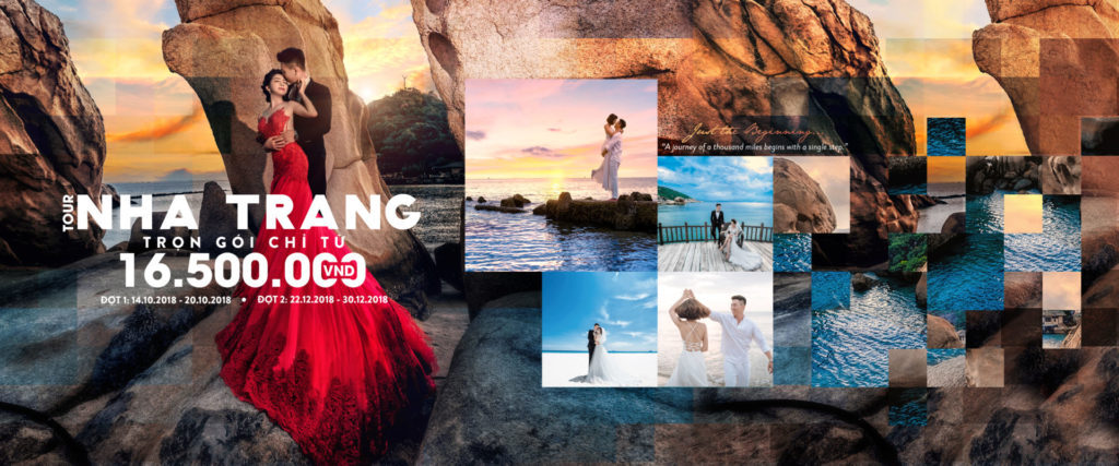 Slide tour chụp ảnh cưới nha trang